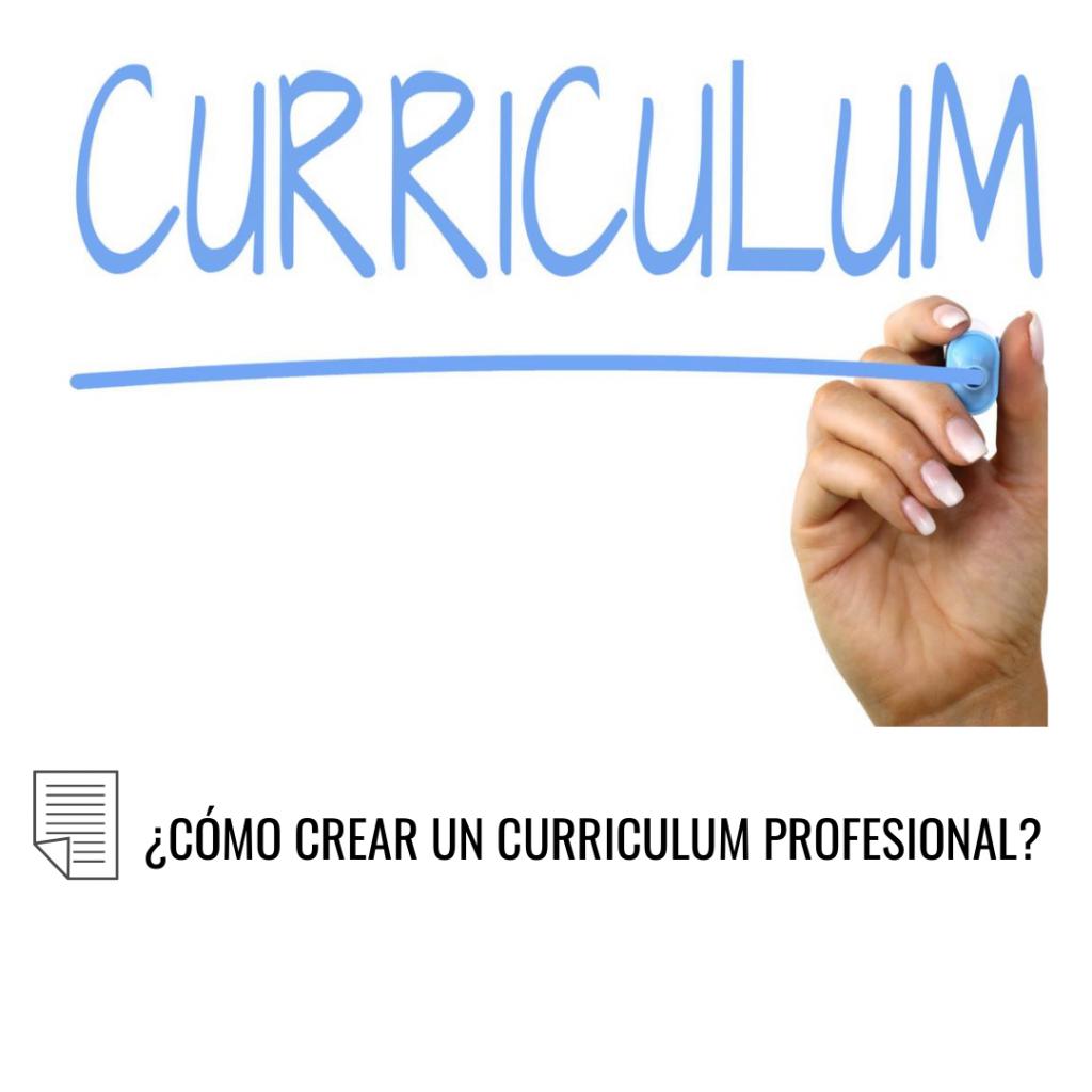 Como crear Curriculum profesionales