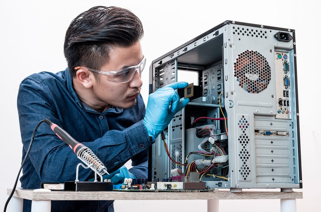 Curso de reparación de PC Online Con Rápida Salida laboral
