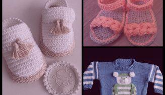 Curso de tejido  para bebé  GRATIS